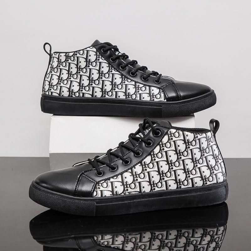 Men's trendy all-match casual high-top sneakers