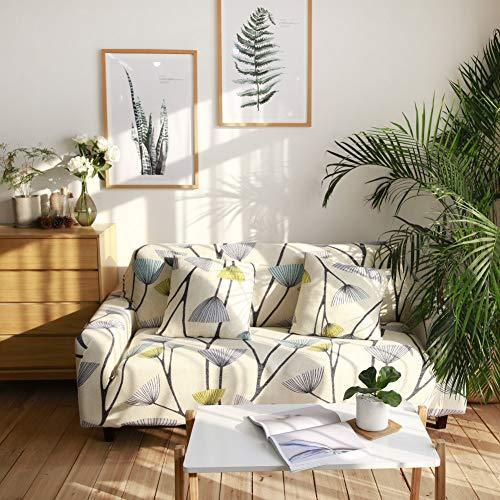Stretch Slipcover Fitted Furniture Protector Print Sofa Cover Stylish Couch Cove