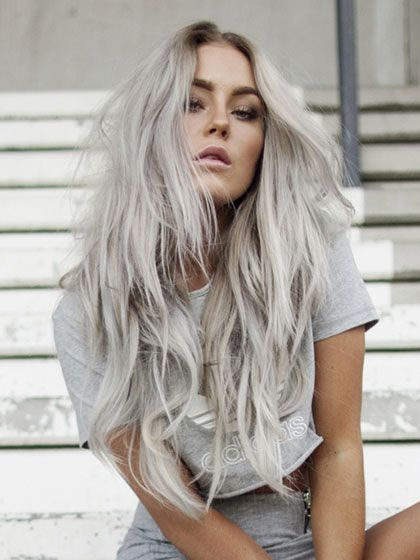 2020 New Gray Hair Wigs For African American Women Natural Periwig Gray Is The New Blonde Invisible Lace Front Wigs Light Brown Grey Hair Grey Is The New Blonde