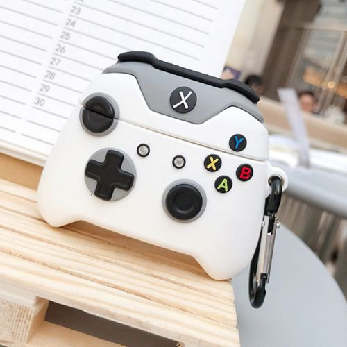 Cute 3D Gamepad Cover Compatible with Airpods Pro/3 Cartoon Cool Soft Silicone Airpod Cases for Air Pods 3/Pro