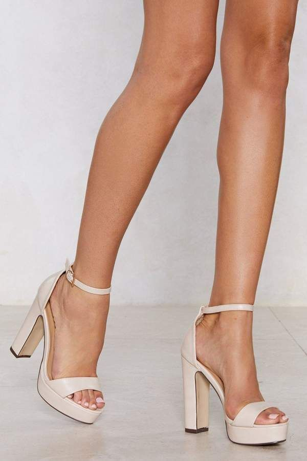Trendy High Heel Shoes Party Shoes Box Heels