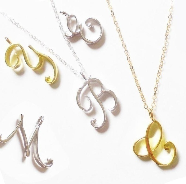 Initial Necklace, Alphabet Necklace, Small Initial Necklace, Personalized Necklace, Initial Necklace, Delicate Necklace, Gold Initial Necklace