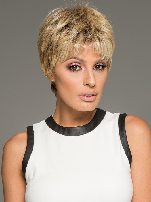 Textured Cut   HF Synthetic Wig (Basic Cap)