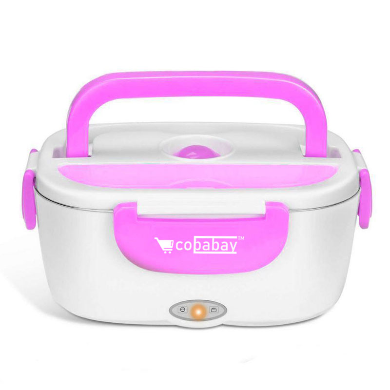 Portable Heated Electric Lunch Box 2 IN 1 - For Car,Truck,School and Work📢 50% OFF