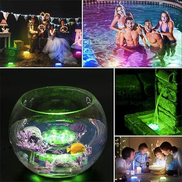🔥50% OFF!-16 COLORS SUBMERSIBLE LED POOL LIGHTS