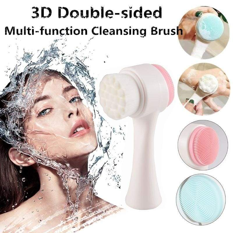 Facial Cleansing Brush Soft Bristles Double Sided Blackhead Exfoliator Nicerin Best Goods Free Shipping