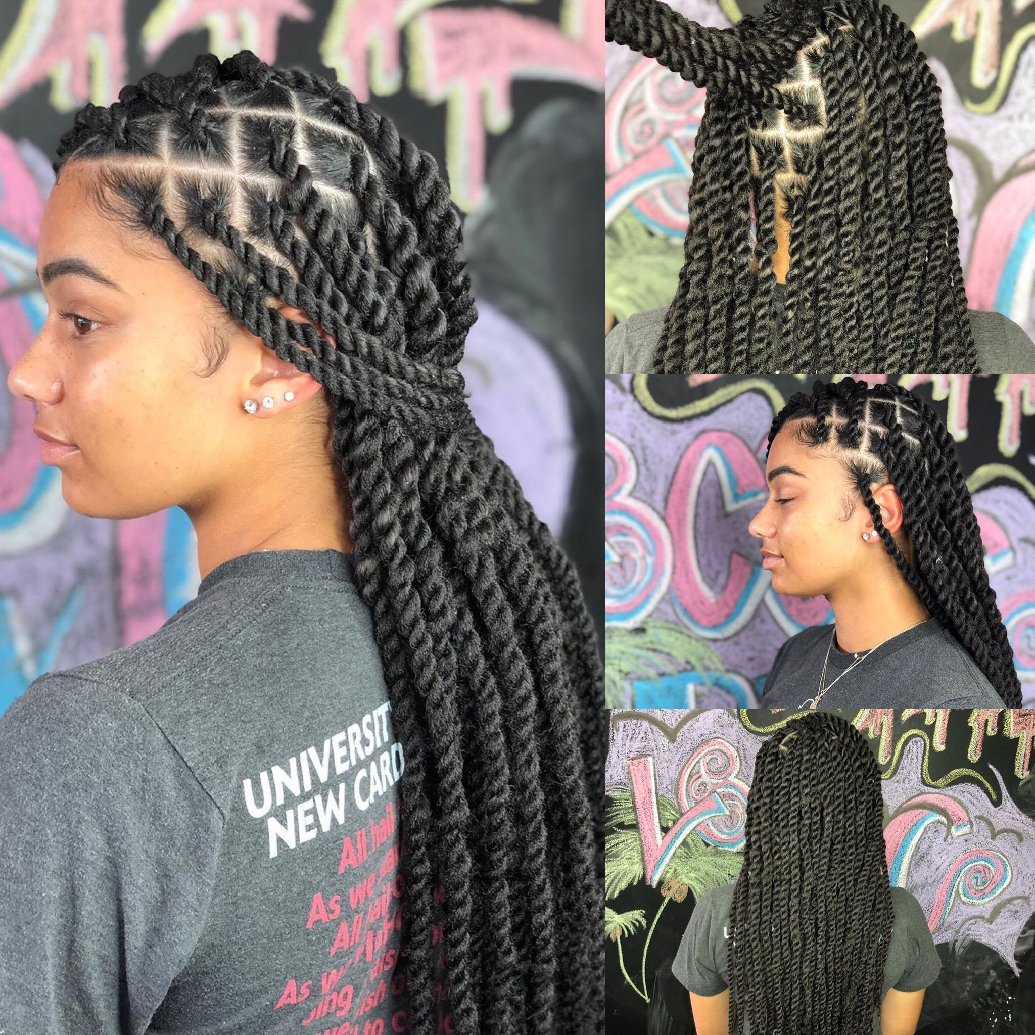 Best Braiding Hairstyles African American Hair 715 Store Wig Care Straight Back Braids 2018 Pre Plucked Wigs