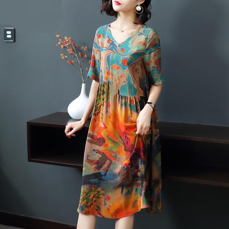 Newest floral dress from HK IN 2019