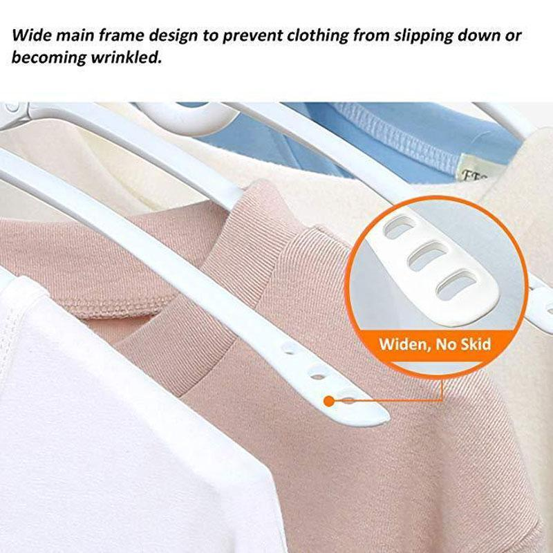 8-in-1 Magic Collapsible Rotating Clothes Hangers