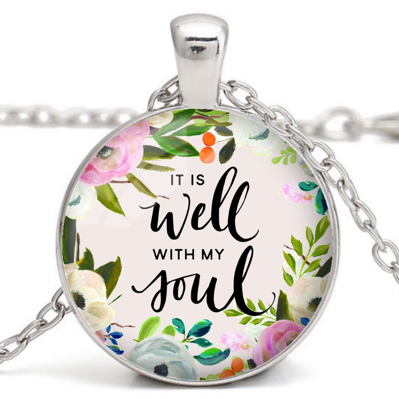 Mother's Day Promotion 70% off-It Is Well Necklace