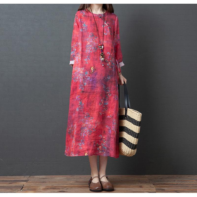 The newest Autumn loose-styled lady dress