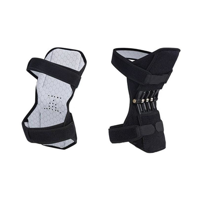 1pc/2pcs Adjustable Strap Kneepad Sports Knee Booster Power Leg Protector Elastic Joint Brace Knee Support for Climbing Training