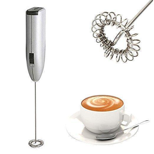 Automatic Handhold Stainless Steel Mini Coffee Milk Mixer Frother