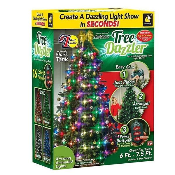 【Christmas promotion 50% OFF】Star Shower Tree Dazzler LED Light Christmas Lights