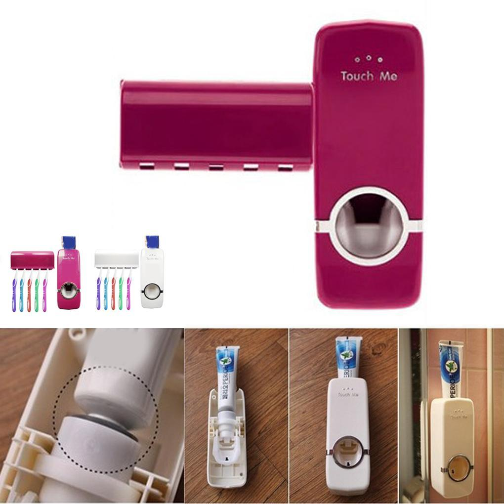 Automatic Toothpaste Dispenser Holder Set