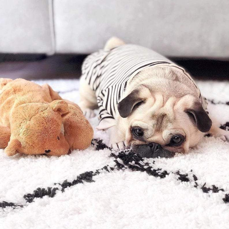 Striped T-Shirt for Pugs