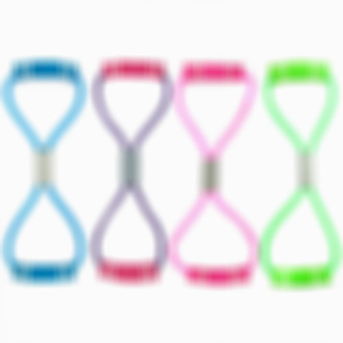 8 Word Type Rubber Tensile Resistance Bands