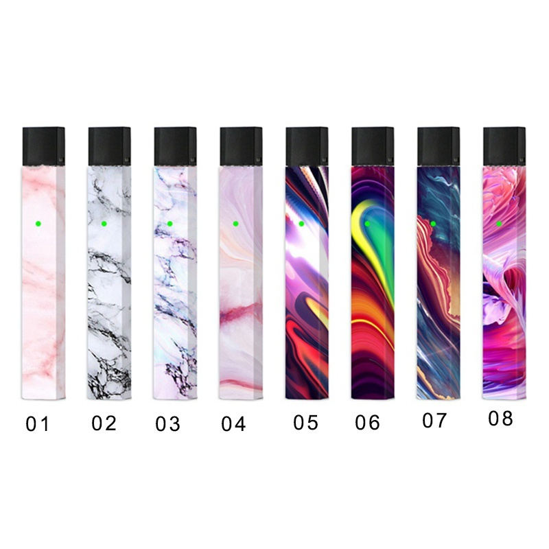 New Skin Wrap Sticker Decal For Juul Vape Electronic Cigarette Accessory Protection Cover Sticker