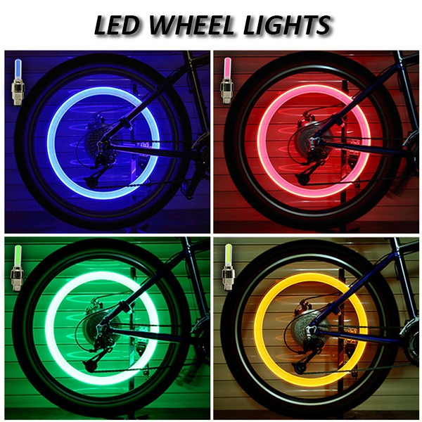 (CHRISTMAS PRE SALE - SAVE 50% OFF) Waterproof Led Wheel Lights - Suitable For All Vehicles