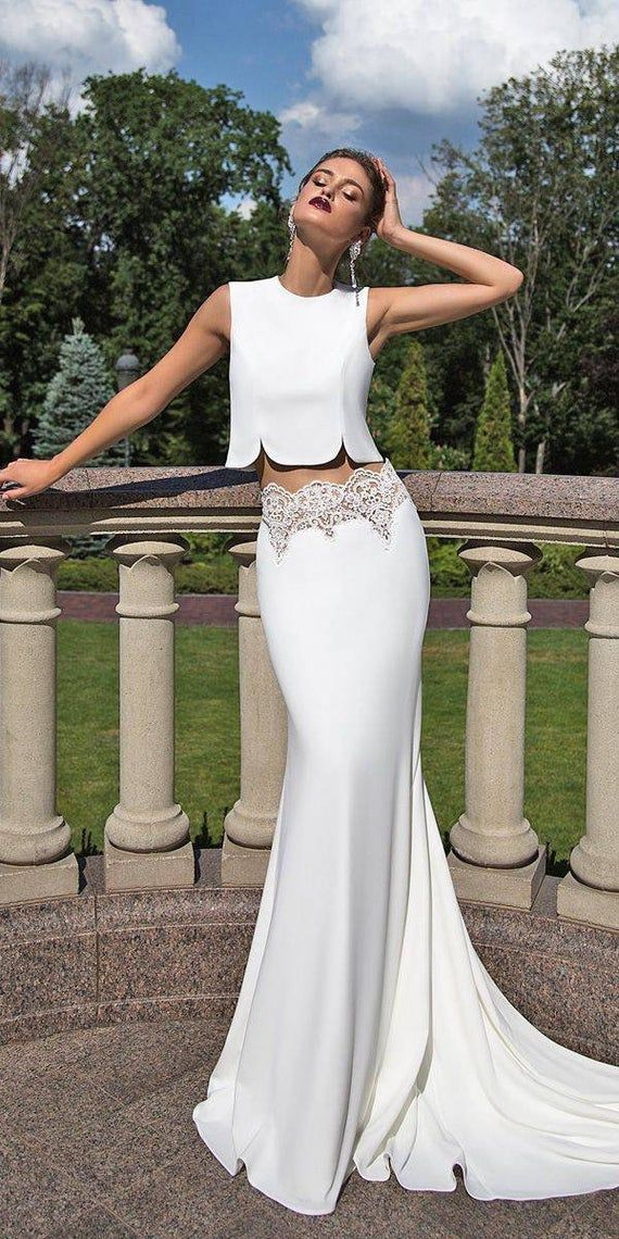 2020 New Wedding Dress Fashion Dress stella york dresses jacket over formal dress