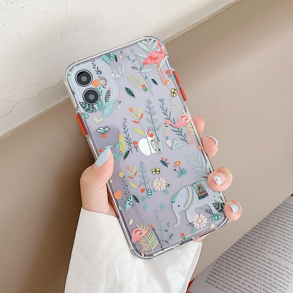 Animals And Flowers Case