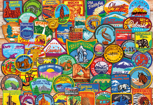 Famous road sign puzzle (buy 2 sets free shipping)