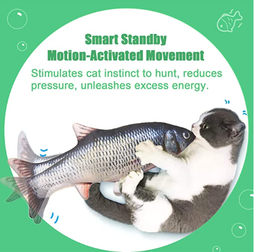 Cat Toy Moving Fish