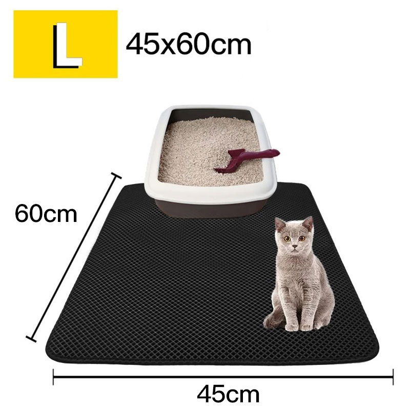 【Last Day Promotion 60% OFF】Double Layer Cat Litter Mat