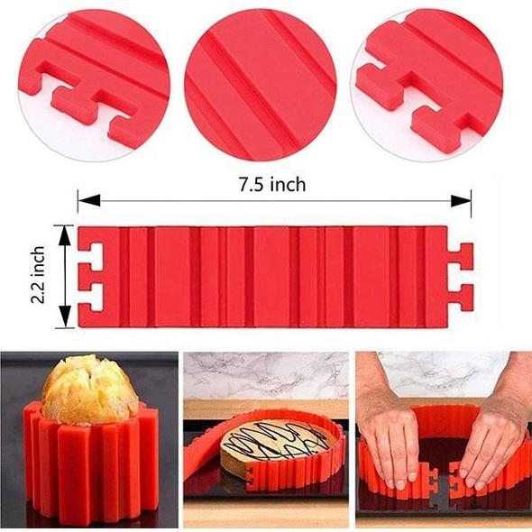 [Buy 3 Free shipping] Silicone Cake Mould 4PCS-50%OFF
