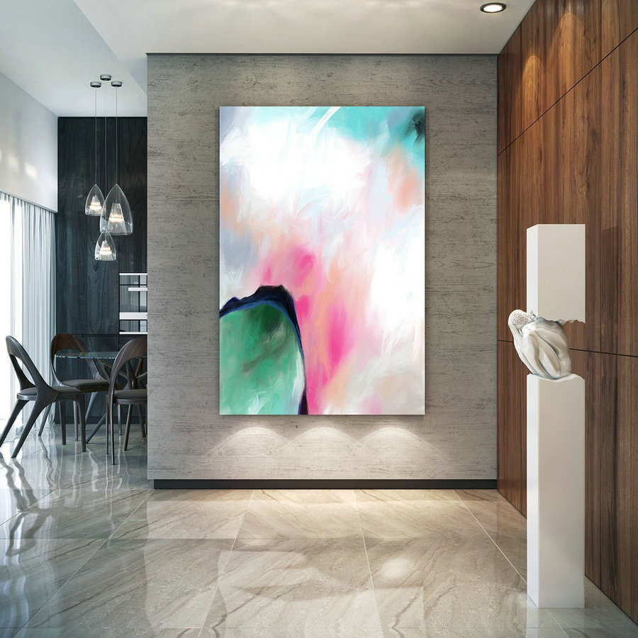 Abstract Canvas Original Paintings Abstract Paintings Wall Art for Luxury Interiors Living room decor Huge Size Art, Office Wall Art Pac175