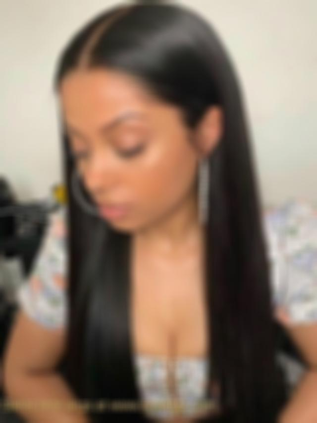 Lace Front Wigs Black Hair Long hair straight wigs for white women free shipping