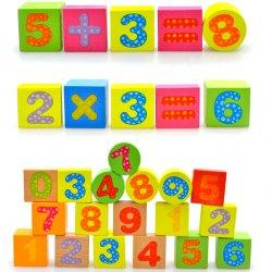 100 Tablets of Children Early Education Intellectual Strength Digital Letters Baby Toys Building Blocks - Multi-a