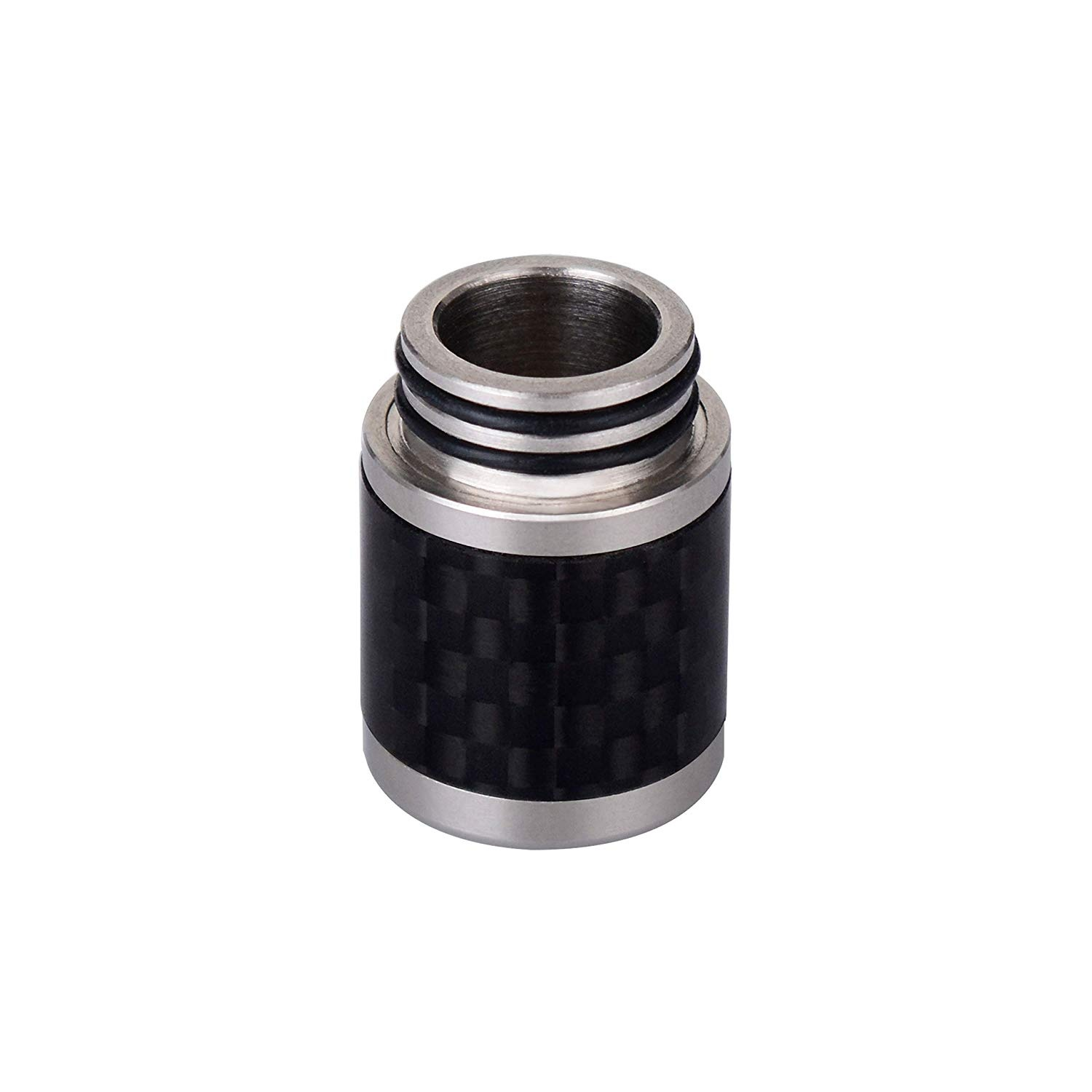 WOLFTEETH 2019 Carbon Fiber Plus Stainless Steel 810 Drip Tip Mouthpieces for Electronic Cigarette Vape Tank Vaping Devices 1243