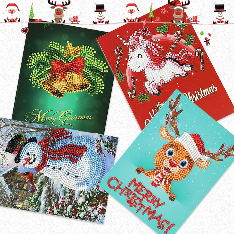 Christmas Pre Promotion🎅Diamond Painting Christmas Card-60% OFF TODAY!
