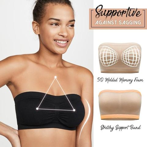 🔥【PAY 1 GET 3】SUPPORTIVE BANDEAU BRA