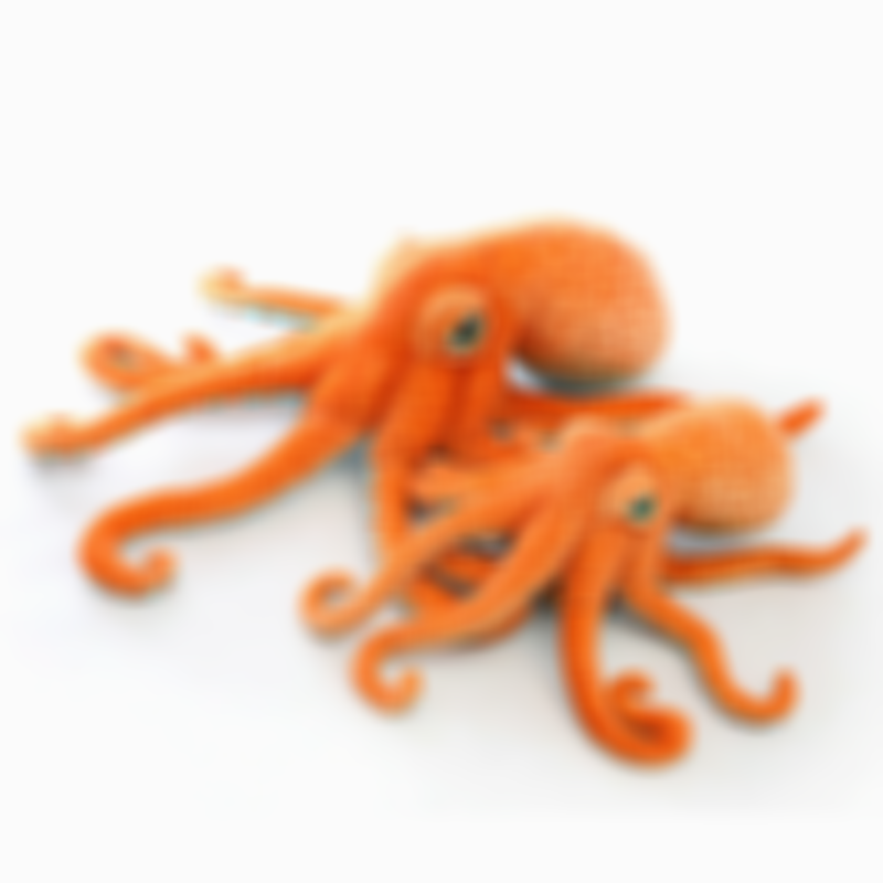 Olympus The Giant Octopus Plush Toy