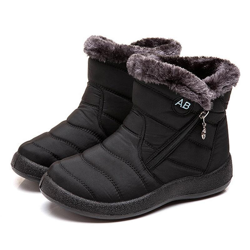 ⭐Only $19.99 Clearance Sale⭐Ankle Boots For Women Boots Fur Warm Snow Boots