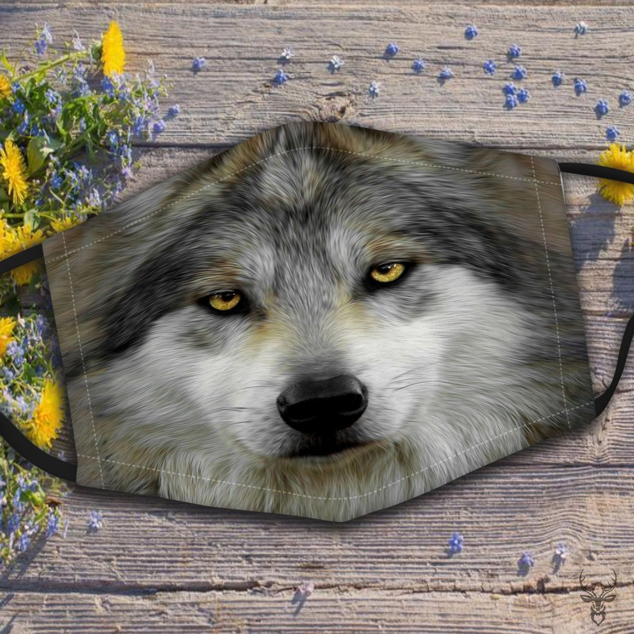 Wolf Face Mask 3