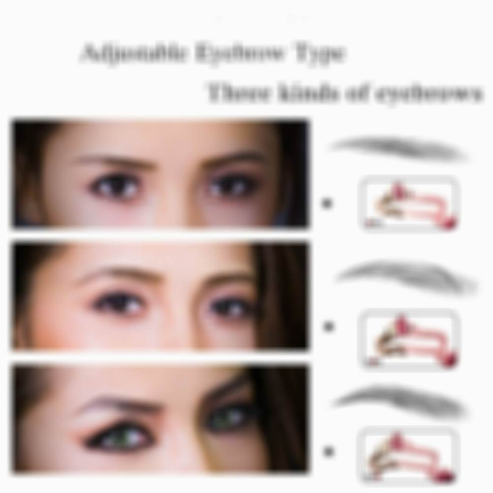 Adjustable Eyebrow Shapes Stencil(buy 2 free shipping)