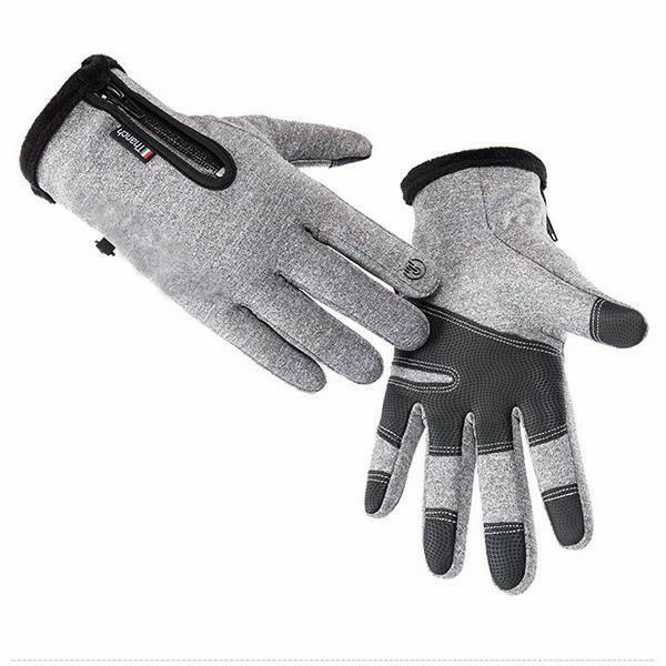 Men Women Winter Warm Gloves Windproof Waterproof Thermal Touch Screen Mittens Anti-Slip