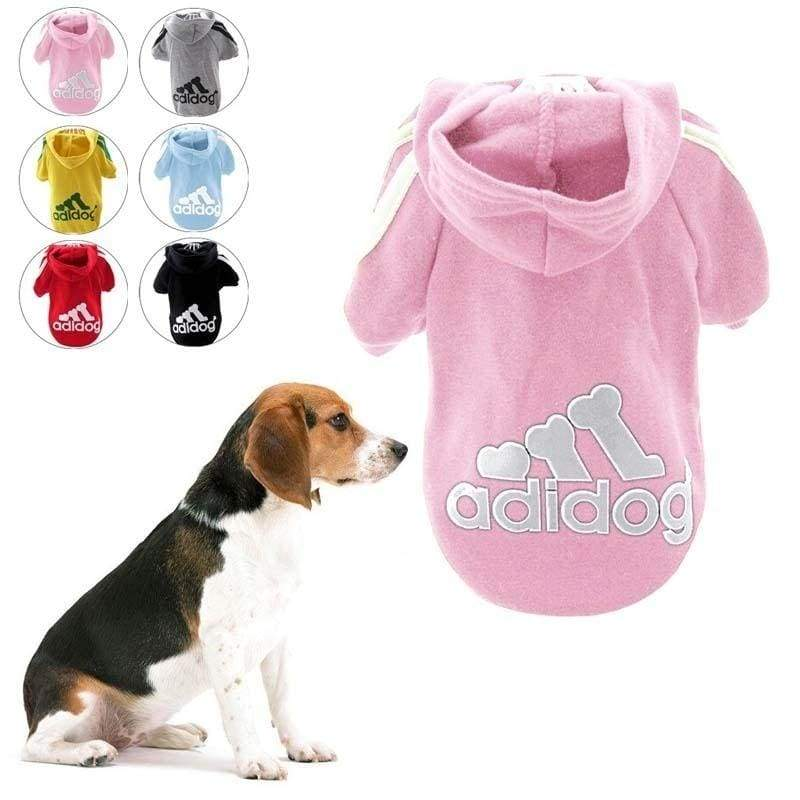 Fashion Dog Clothes Spring Fall Winter Dog Cost Pet Sport Clothes Hoodie Coat Cloths for Teddy Puppy