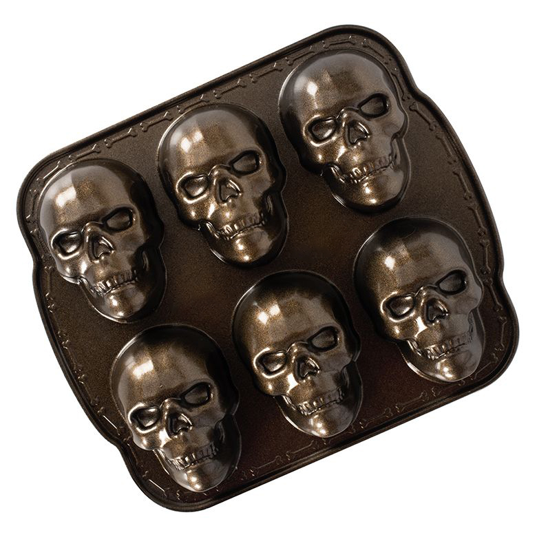 Horrible Skull Pizza Cake Mold