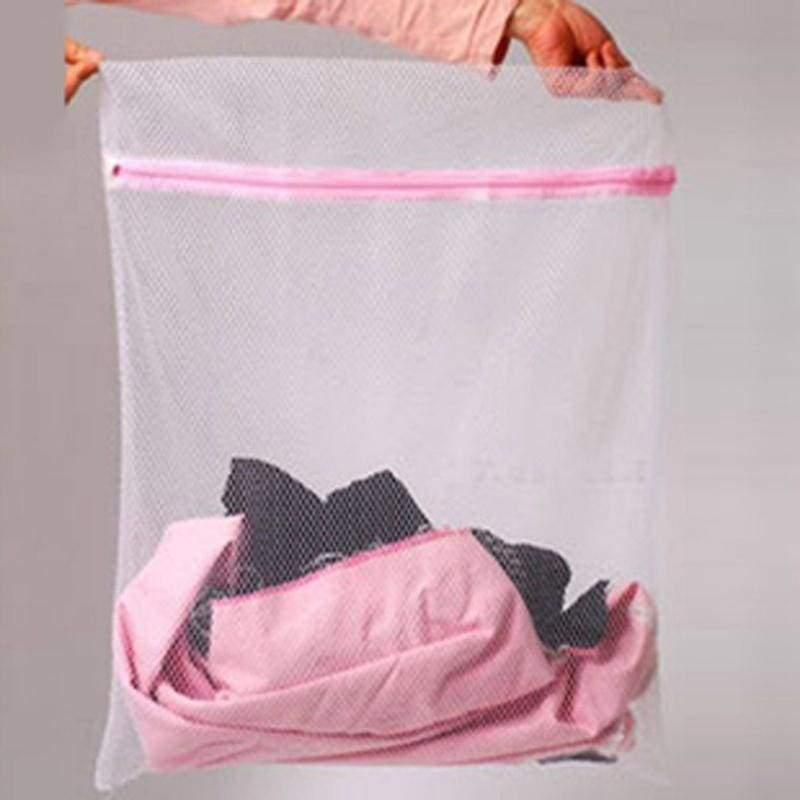 Creative new environmental protection thick net bra wash bag folding underwear laundry bag net bag
