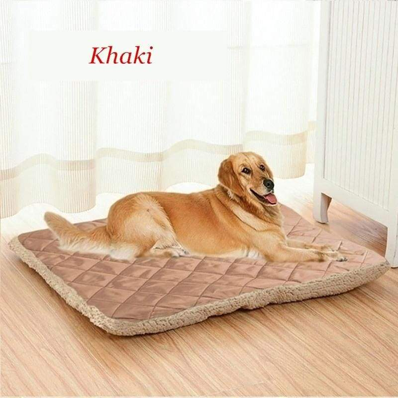 Fashion Cute Pet Mat 2 Sides Available Plush Soft Warm Dog and Cat Bed Dog Cushion Blanket Kennel Home for Pets