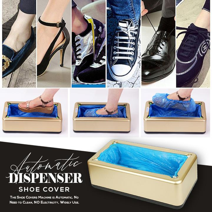 50% OFF - Automatic Shoe Cover Dispenser(Buy 2 Save $5 And Free Shipping)