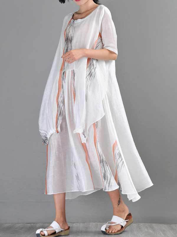 Knot Or Not A-Line Dress