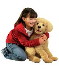 Biscuit My Lovin Pup, Life Size Plush Interactive Dog