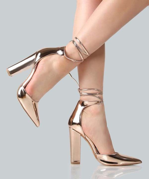 Trendy High Heel Shoes Neon Shoes Khaki Heels