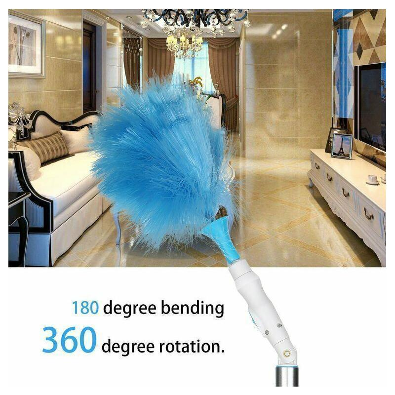 Higomore™ Hurricane Spinning Duster with 2 Brushes to Exchange
