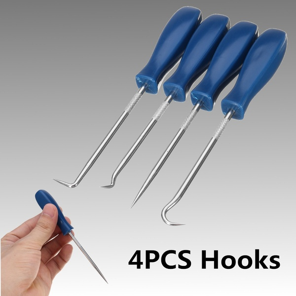 4PCS/SET O-Ring Seal Remover Car Automobile Hook And Pick Set Craft Hobby Tool Kit